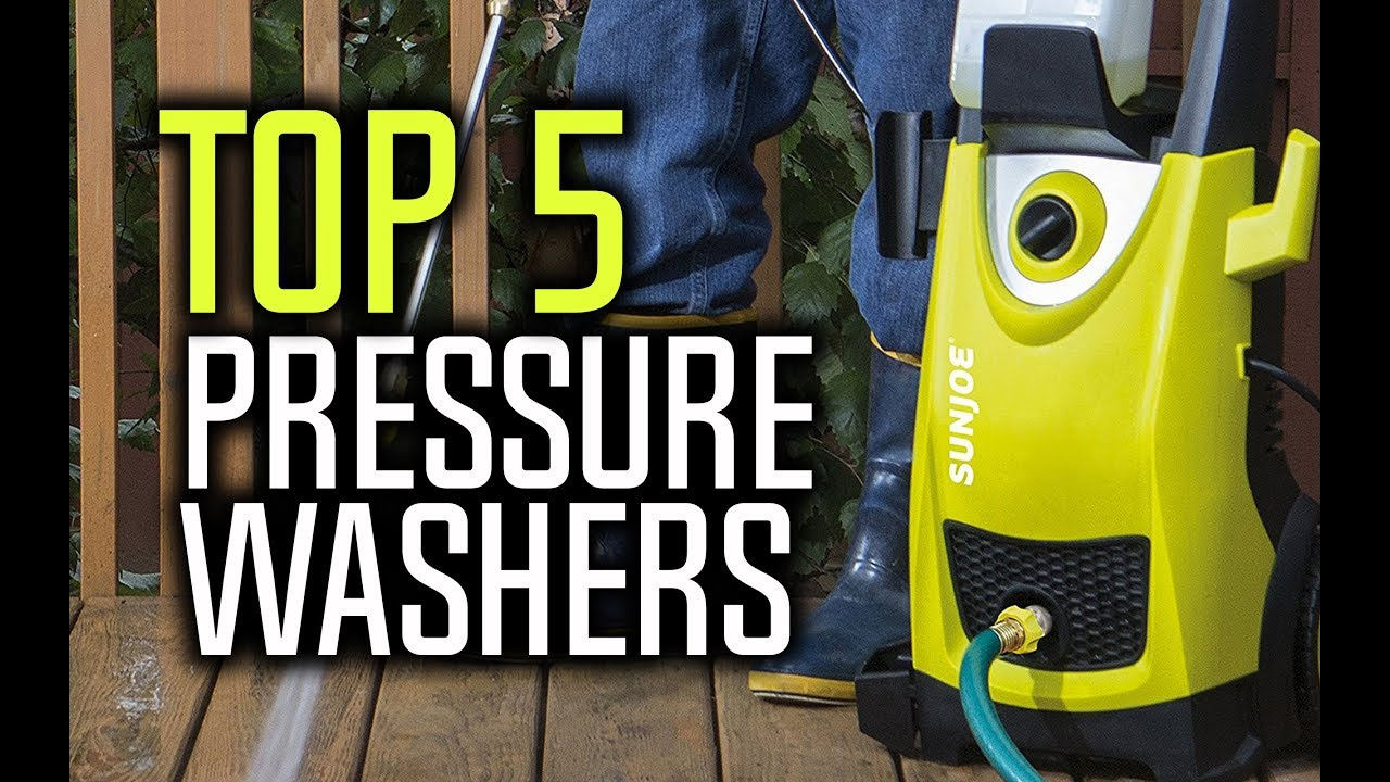 best pressure washers in 2018 wh - Best Pressure Washers in 2018 - Which Is The Best Pressure Washer?