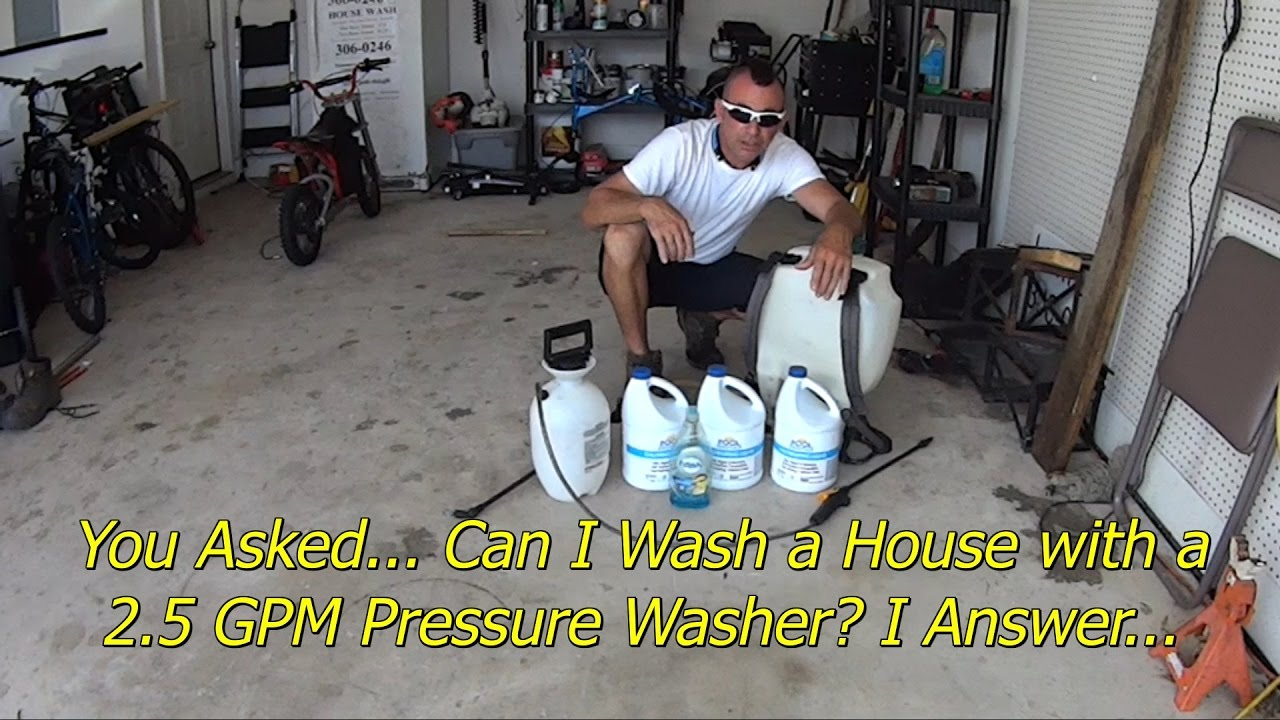 doing a basic house wash with en - Doing a Basic House Wash with Entry Level Equipment - Pressure Wash Business