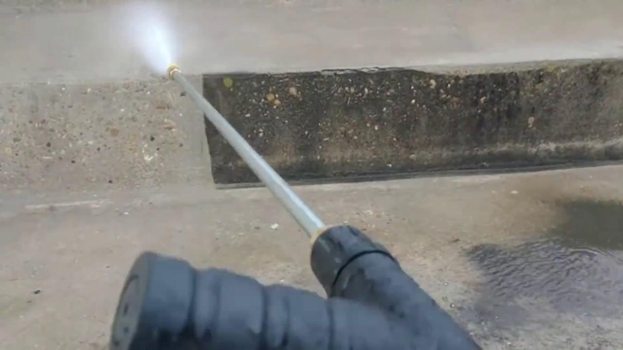 ingenious oddly satisfying press 4 - INGENIOUS & Oddly Satisfying Pressure Washing  Videos #31