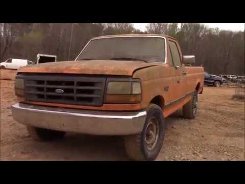 pressure washing the scrapped f2 - !!PRESSURE WASHING THE SCRAPPED F250!! PART 1