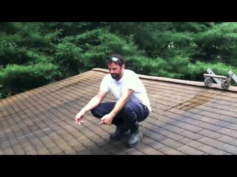 shingle roof cleaning llc demons - Shingle Roof Cleaning LLC Demonstration