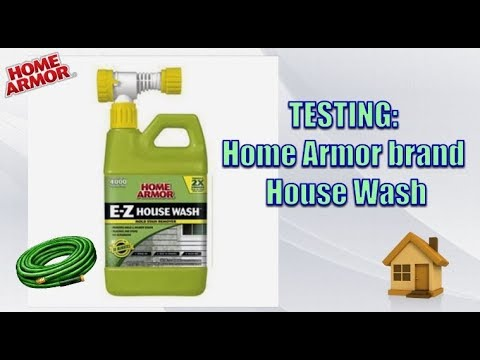 testing home armour house wash - TESTING: HOME ARMOUR HOUSE WASH